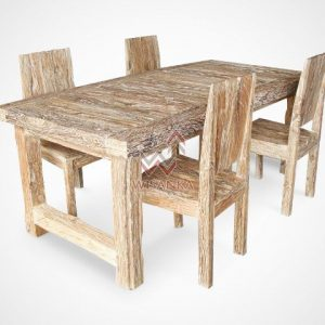 Recycled Wood Furniture sulur-dining-Set