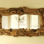 Recycled Wood Furniture-Bali-Mirror