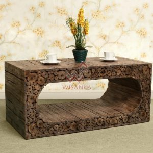 Reclaimed Furniture -Coin-Coffee-Table
